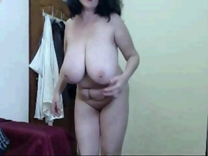 Amateur, Big tits, Dancing, Experienced, Granny, Hooters, Huge, Mature, Tits, Webcam