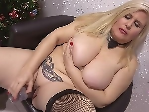 Bbw, Big cock, Big natural tits, Big tits, Blowjob, Dildo, Masturbating, Mature, Milf, Sex toys, Spanish, Titty fuck, Xmas