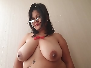 Bbw, Big natural tits, Big nipples, Big tits, Cum in mouth, Cum swallowing, Milf, Xmas