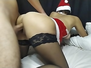 18 year old, Amateur, Big butt, Brunettes, Cumshots, Doggystyle, Homemade, Russian, Teens, Xmas